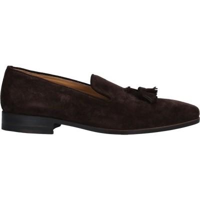 ディ メッラ DI MELLA メンズ ローファー シューズ・靴 Loafers Dark brown