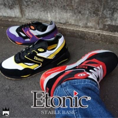 送料無料 エトニック Etonic ステイブルベース メンズ スニーカー STABLE BASE ローカット カジュアルシューズ バーニーズ ニューヨーク