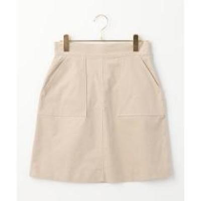 シップスKhaju:ツイルベルベットスカート【お取り寄せ商品】