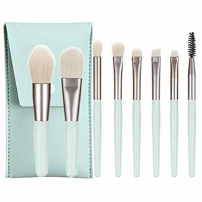 【送料無料】メイクブラシ 8本セット、メイクブラシセット、化粧筆、化粧ブラシ、非常に柔らかく人気のあるメイクブラシセットは敏感な肌
