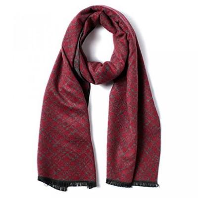 ウインターセット メンズファッション スカーフ 手袋 キャップ Special Beauty Warm Classic Men's Cashmere Winter Scarf Casual Warm Soft Pashmina Long