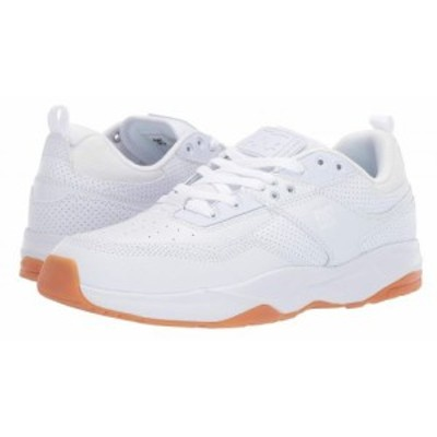 DC ディーシー メンズ 男性用 シューズ 靴 スニーカー 運動靴 E. Tribeka White/Gum【送料無料】