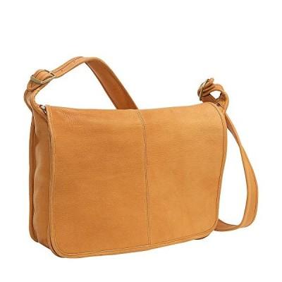 Le Donne Leather 2116-Tan Messenger Bag並行輸入品