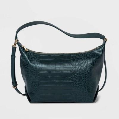 ニューデイ A New Day レディース ショルダーバッグ バッグ Zip Closure Square Crossbody Bag - Green