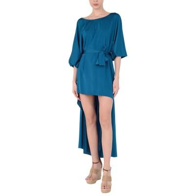 FISICO ビーチドレス ブルー S ナイロン 89% / ポリウレタン 11% ビーチドレス