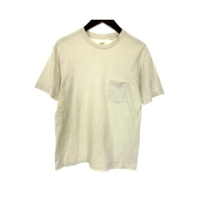 【中古】アナトミカ ANATOMICA Tシャツ カットソー 半袖 胸ポケット S 白 ホワイト /HZ1 メンズ 【ベクトル 古着】