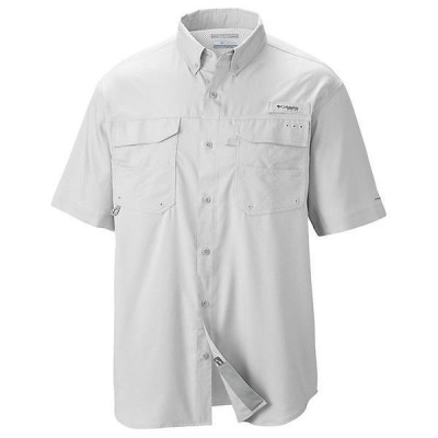 (取寄)コロンビア メンズ ブロード アンド ガッツ 3 ショートスリーブ ウーブン シャツ Columbia Men's Blood And Guts III SS Woven Shirt White