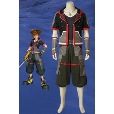 『キングダム ハーツIII』略称:KHIII ソラ KINGDOM HEARTS 3  Sora  ゲーム  コスプレ衣装[4267]