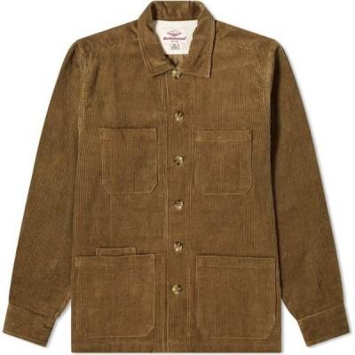バテンウェア Battenwear メンズ シャツ トップス 5 Pocket Canyon Shirt Olive