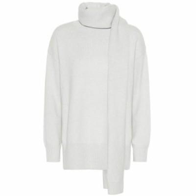 コー Co レディース ニット・セーター トップス Sweater and scarf set Chalk