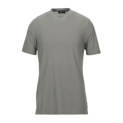 ZANONE T シャツ ミリタリーグリーン 44 100% コットン T シャツ
