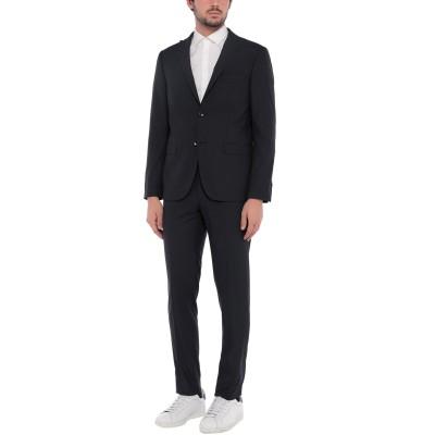 DOMENICO TAGLIENTE スーツ ダークブルー 56 ポリエステル 77% / レーヨン 21% / ポリウレタン 2% スーツ