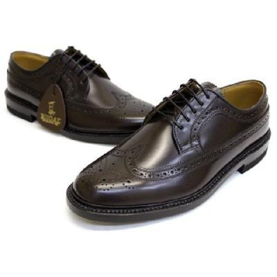 リーガル REGAL 靴 メンズ ビジネスシューズ 2589N 本革 ウイングチップ  ブラウン