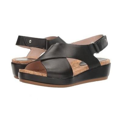 Pikolinos レディース 女性用 シューズ 靴 サンダル Mykonos W1G-0757C2 - Black