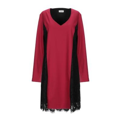 LE COEUR TWINSET ミニワンピース&ドレス ボルドー XS ポリエステル 69% / レーヨン 29% / ポリウレタン 2% ミニワ