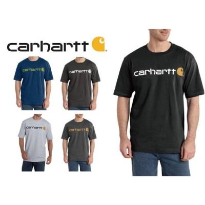 カーハート Carhartt ロゴTシャツ  ネコポスOK 5カラー  Carhartt LOGO SHORT SLEEVE T-SHIRTS