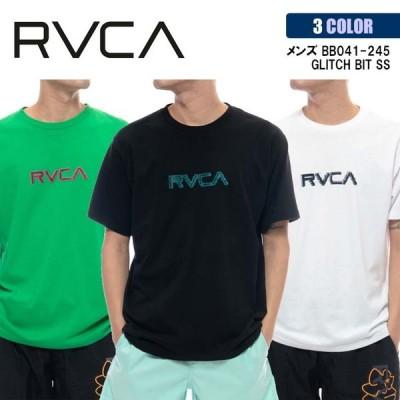 21 RVCA ルーカ Tシャツ GLITCH BIT SS 半袖 メンズ 2021年春夏 品番 BB041-245 日本正規品