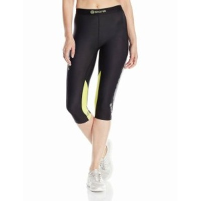 skins スキン ファッション パンツ Skins Womens Pants Black Size Large L Capri Activewear Leggings