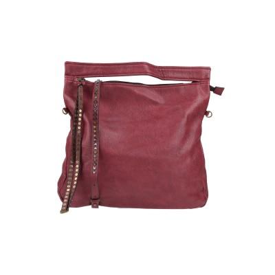 MAURY ハンドバッグ ボルドー 革 ハンドバッグ