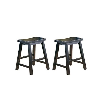 Homelegance Saddleback 18-Inch Barstool[並行輸入品]