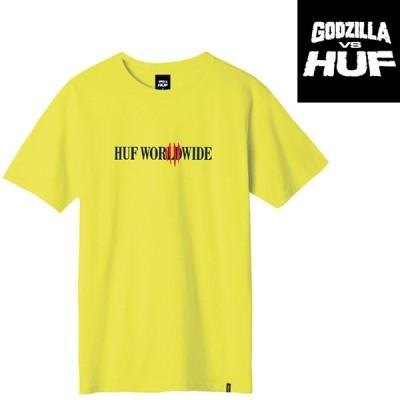 HUF x GODZILLA CLASSIC H S/S TEE ハフ Tシャツ プリントT 半袖T T-SHIRT ゴジラ コラボレーション