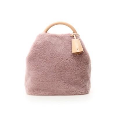 【サマンサタバサ】 ボア巾着バッグ レディース ピンク FREE Samantha Thavasa