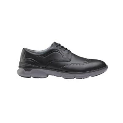 ジョンストンアンドマーフィー メンズ ドレスシューズ シューズ Men's XC4 Water-resistant Tanner Wingtip Oxford Shoes Black Waterpro