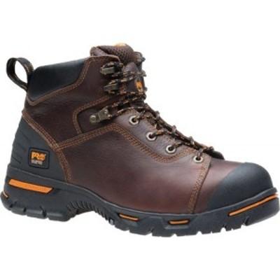 ティンバーランド Timberland PRO メンズ ブーツ シューズ・靴 Endurance PR 6 Soft Toe Briar Full Grain Leather