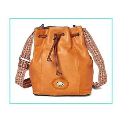 【新品】Tignanello Milan Drawstring Cross Body W/RFID Protection, Terracotta/Cognac(並行輸入品)
