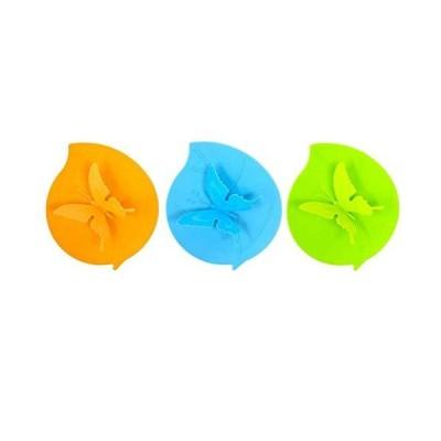 【全国送料無料】バタフライシリコンカバー カップ用 防塵 マグカップ蓋 気密シール シリコンシリコン