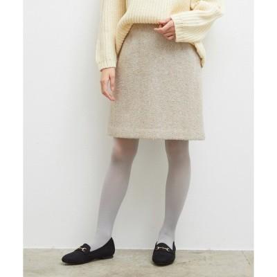 スカート ファンシーツイードスカート