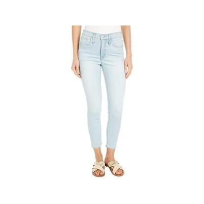 "Madewell 9"""" Mid-Rise Skinny Crop Jeans in Simon Wash: Coolmax Denim Edition レディース ジーンズ Simon Wash"