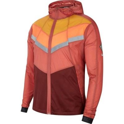 ナイキ Nike メンズ ランニング・ウォーキング ジャケット アウター Windrunner Wild Run Jacket Claystone Red