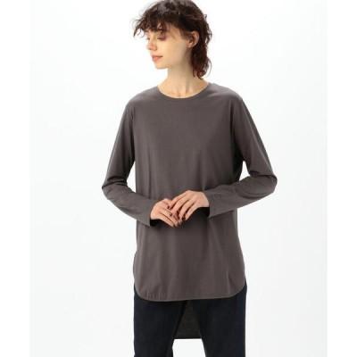 tシャツ Tシャツ ATON SUVIN 60/2   ROUND HEM L/S クルーネックプルオーバー