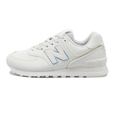 レディース 【NEW BALANCE】 ニューバランス WL574CLD(B) WHITE(CLD) 24.5cm ホワイト