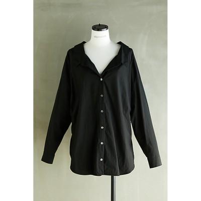 <nagonstans(Women)/ナゴンスタンス> shirt(470DS830-7660) クロ【三越伊勢丹/公式】