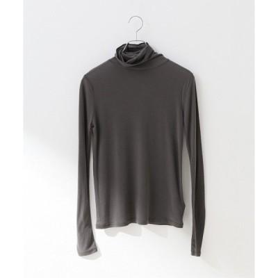 tシャツ Tシャツ タートルネックプルオーバー【手洗い可能】◆