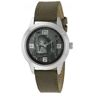 インポート・メンズ・ビジネス&カジュアル腕時計Star Wars Men's Quartz Green Casual Watch (Model: SWCAQ311) 正規輸入品