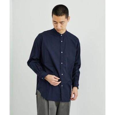 シャツ ブラウス パブリックシャツスタンドカラー
