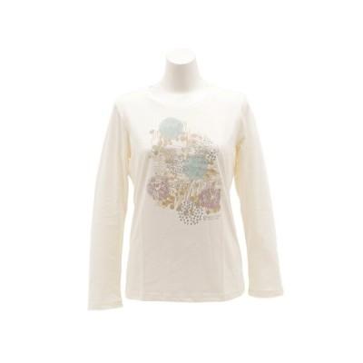 ウィッテム(HUITIEME) Tシャツ レディース 長袖 クルーネック HU18FCD864513WHT (レディース)