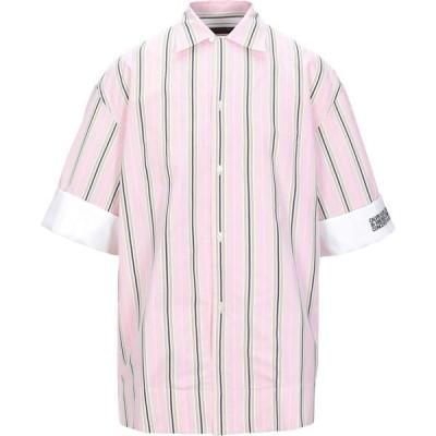 カルバンクライン CALVIN KLEIN 205W39NYC メンズ シャツ トップス striped shirt Pink