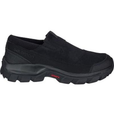 サロモン メンズ ブーツ・レインブーツ シューズ Snowclog Boot Black/Black/Black