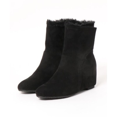 Noubel Voug Relax / 制菌防臭加工インソール付ニュアンスカラーインヒールショートブーツ WOMEN シューズ > ブーツ