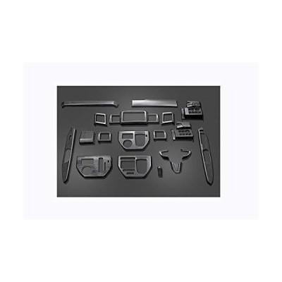 FLEDERMAUS フレーダーマウス 3Dインテリアパネル ダイハツ WAKE LA700/710S 前期/後期 内装パネル 黒木目 ブラックウッド