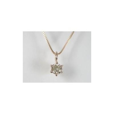 K10PG ピンクゴールド ダイヤモンド ペンダント ネックレス