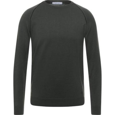 ハマキホ HAMAKI-HO メンズ ニット・セーター トップス Sweater Military green