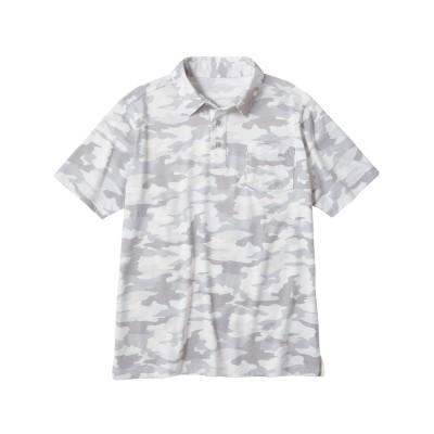 迷彩柄ポロシャツ ポロシャツ, Tops