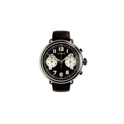 腕時計 TMPL テンプル 1910's CHRONOGRAPH シルバー/文字盤ブラック 1910s-CG01SB
