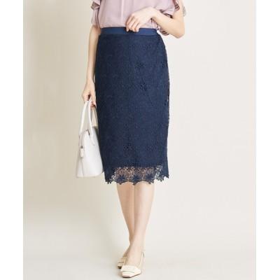 tocco closet / フラワーレースタイトスカート WOMEN スカート > スカート