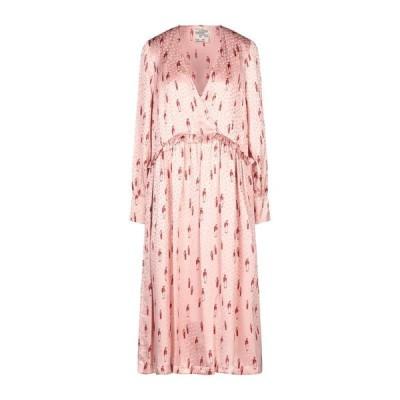 BAUM UND PFERDGARTEN シルクドレス ファッション  レディースファッション  ドレス、ブライダル  パーティドレス ピンク